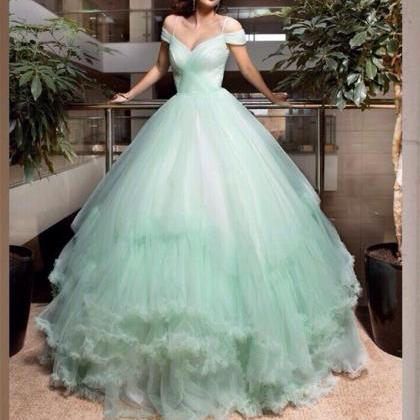 Wedding Dresses,Mint Green Wedding ..
