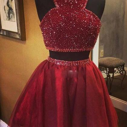 homecoming dresses,short burgundy h..