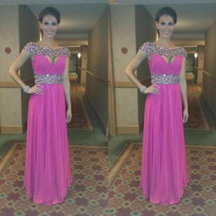 Prom Dresses,Pink Evening Gowns,For..