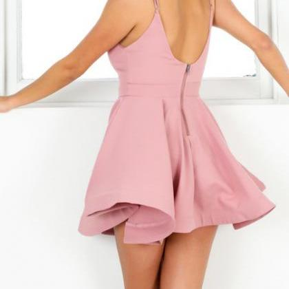 Simple Style Homecoming dress,Short..