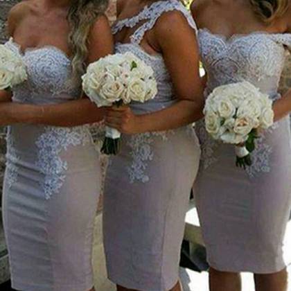 Charming Short Bridesmaid Dress,Sex..
