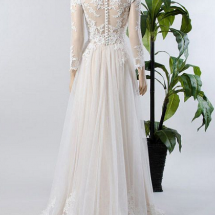 Custom Made Wedding Dresses,A-line ..