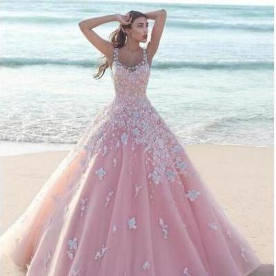 Cheap Blush Pink Wedding Dresses,Quinceanera Dresses,Hot Vestido de 15 Pink Wedding Dress,Quincenera Gowns, with Appliques Sweet Sixteen Wedding Dresses