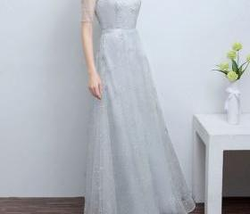 Charming Lace Prom D..
