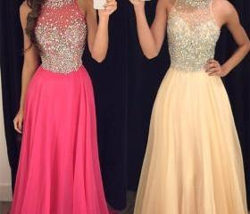 Long Prom Dresses,Ha..