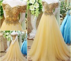 Beaded Prom Dress,Of..