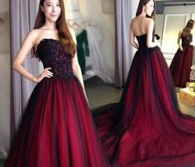 Gothic wedding dress..