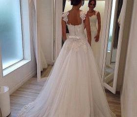 Custom Wedding Dress..