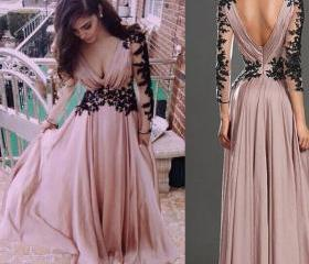 A-line Evening Gown,..