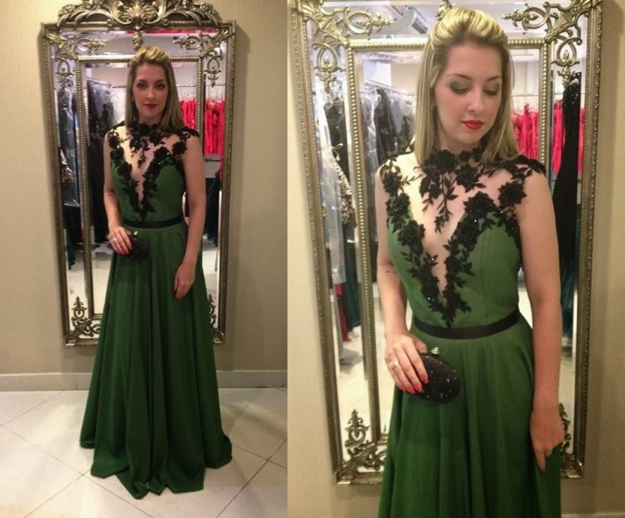 Lace prom dresses appliques evening dress long prom dress chiffon