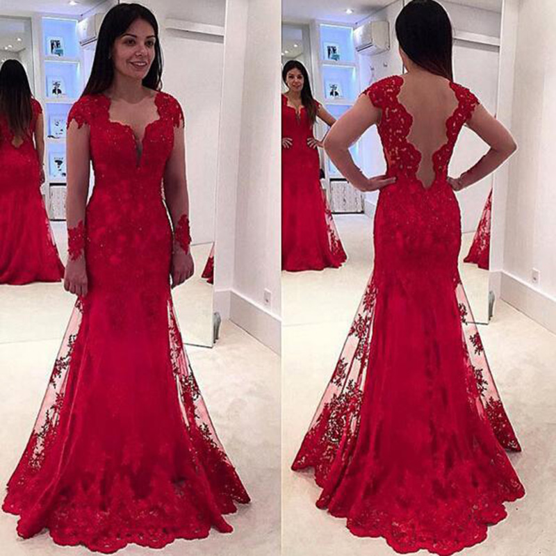 Red Prom Dresses,Prom Dress,Red Prom Gown,