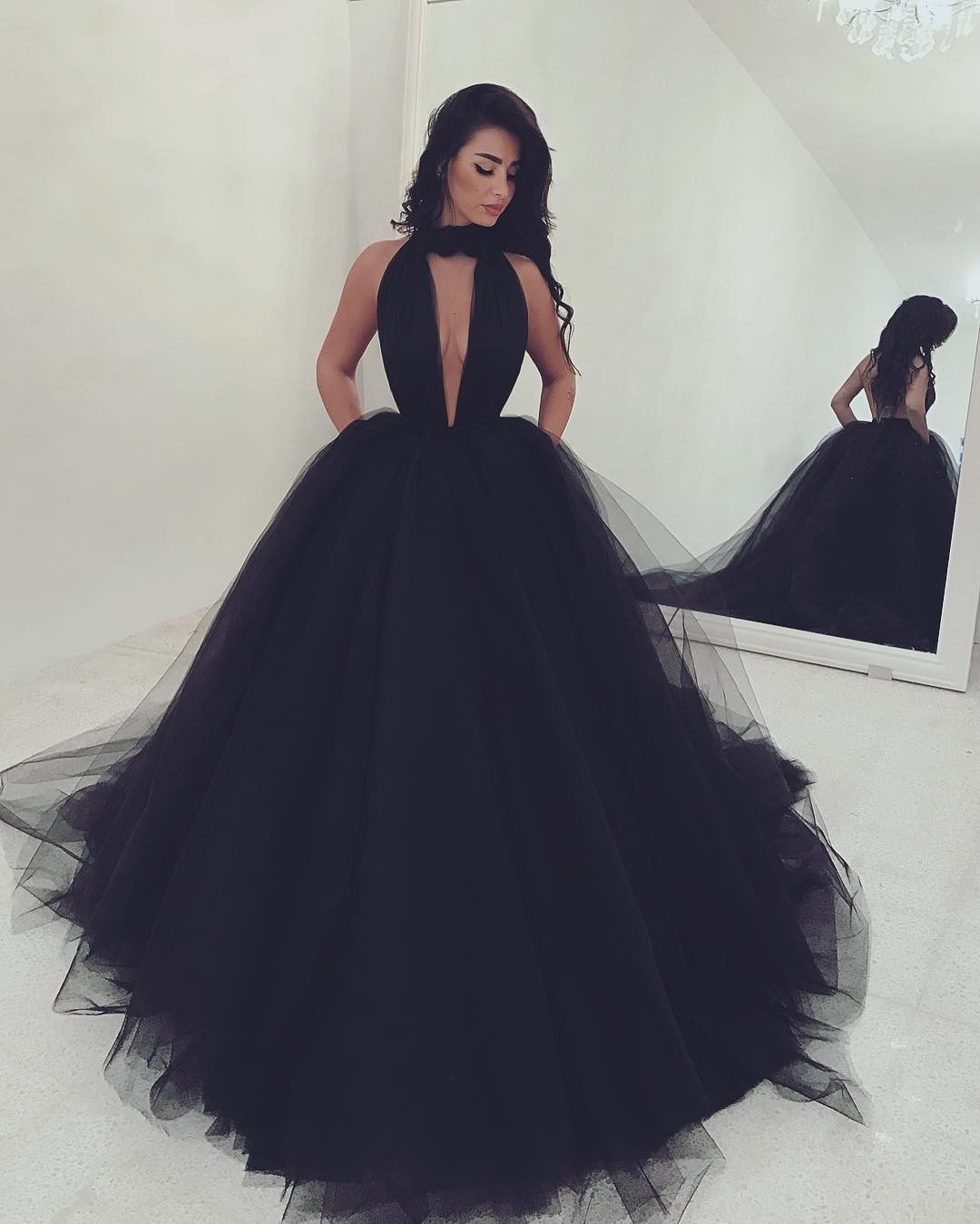 black prom dresses,ball gowns prom dress,sexy prom dress,long formal dress,prom dress