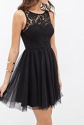 Charming Prom Dress,Tulle Homecoming Dresses,Black Prom Dress,Short Prom Dress
