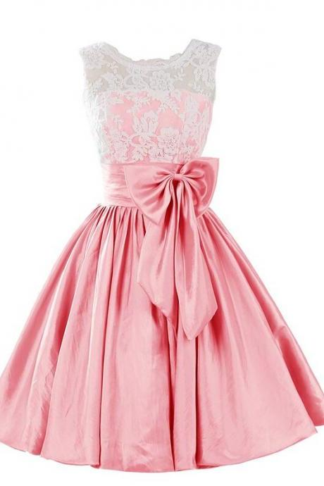 Charming Homecoming Dress,Satin Homecoming Dress,Noble Homecoming Dress, Short A-Line Homecoming Dress