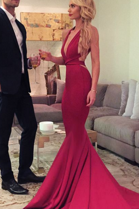 long prom dress, red long prom dress, mermaid long prom dress, formal evening dress
