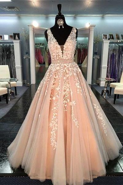 Charming Prom Dress,Applique Prom Dress,Illusion Prom Dress,Fashion Prom Dress,Sexy Party Dress, New Style Evening Dress