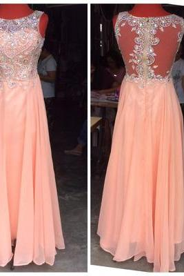 Charming Prom Dress,Chiffon Prom Dresses,Long Prom Dresses,Evening Gown,Formal Dress