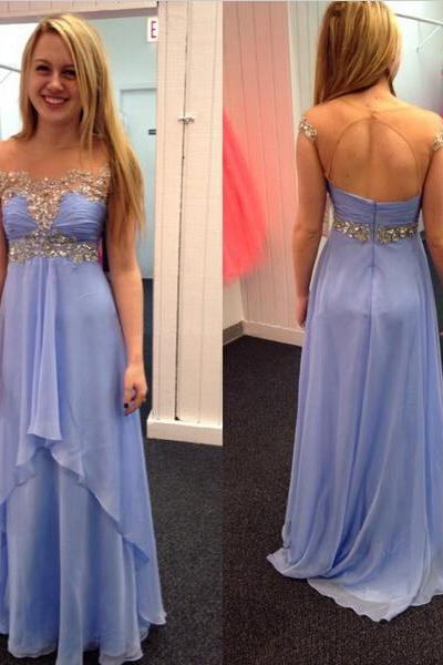 Lavender Prom Dresses,Chiffon Prom Gowns,Backless Prom Dresses,Long Party Dresses,Chiffon Prom Gown,Open Back Prom Dress,Sparkly Evening Gowns,Backless Prom Gowns,Beaded Evening Gowns