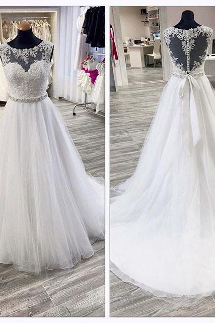 Wedding Dress A-line Wedding Dress white Wedding Dress,Luxury Wedding Dress,Crystal Wedding Dress,Sweetheart Wedding Dress,Beaded Wedding Dress,Long Wedding Dress,Gothic Wedding Dress,Unique Wedding Dress,Puffy Wedding Dress,Dress For Bride