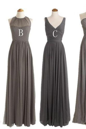 Gray Bridesmaid Gown,Pretty Prom Dresses,Grey Wedding Gown,Strapless Bridesmaid Dress,Cheap Bridesmaid Dresses,Sweetheart Bridesmaid Gowns,Simple Bridesmaid Gowns
