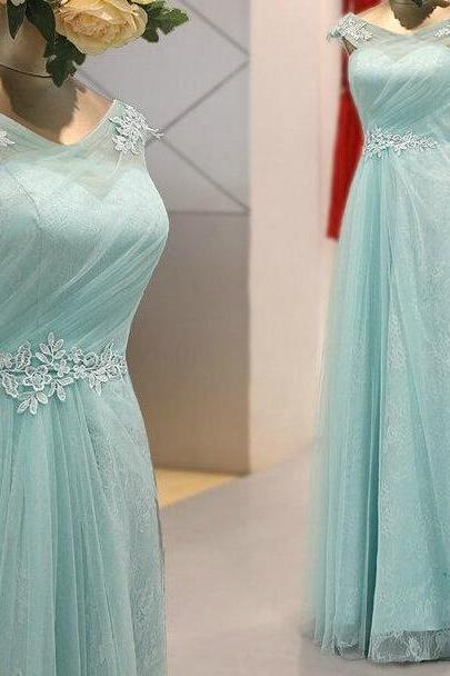 Charming Prom Dress,Tulle Prom Dress,Appliques Prom Dress,V-Neck Prom Dress,A-Line Prom Dress