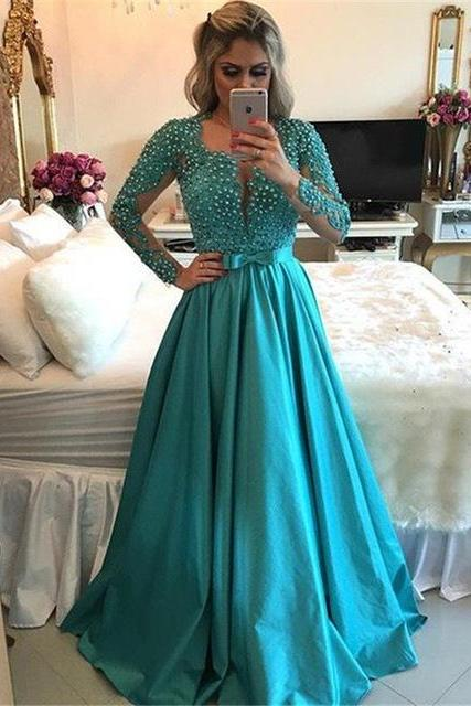 Sexy Prom Dresses,Lace Evening Dresses,New Fashion Prom Gowns,Elegant Prom Dress,Evening Gowns,light blue Evening Gown