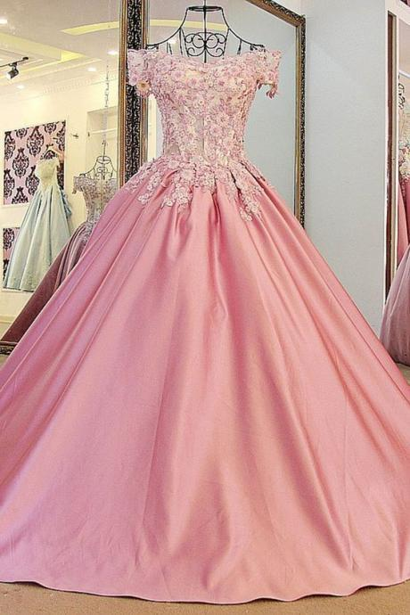 Prom Gown,Quinceanera Dresses, New Ball Gown Prom Dress, Formal Party Gowns, Sexy Quinceanera Dresses