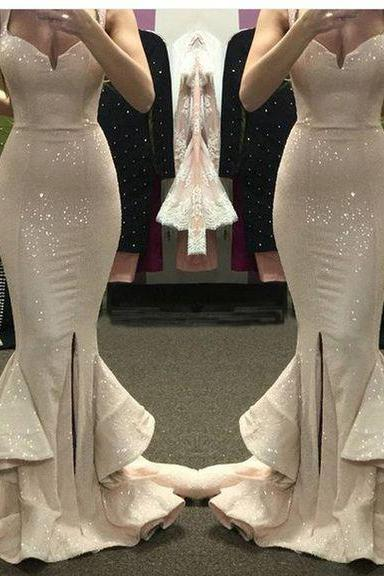 Mermaid Prom Dress ,Sequins Prom Dresses ,Long Prom Dress ,Formal Dress ,Evening Dress,Celebrity Dress,Pageant Dress