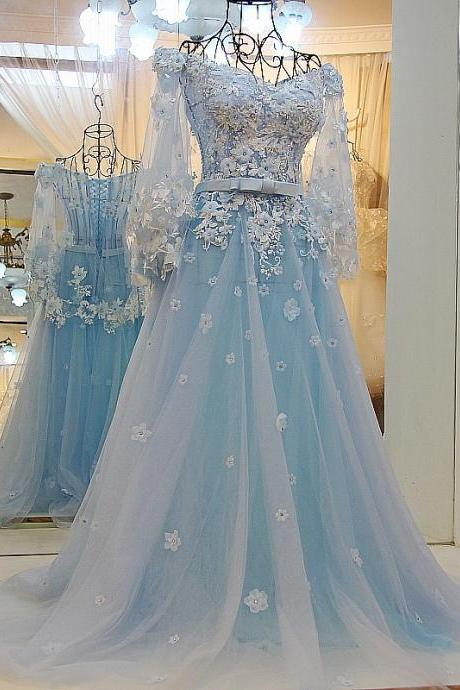 prom dresses with lace long prom gowns modest evening dress,formal gowns