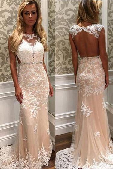 Custom Mermaid Prom Dresses, Cheap Formal Dresses, Lace Prom Dress,Long Prom Dress, Affordable Prom Dress, Junior Prom Dress, Formal Evening Dresses Gowns, Party Dresses