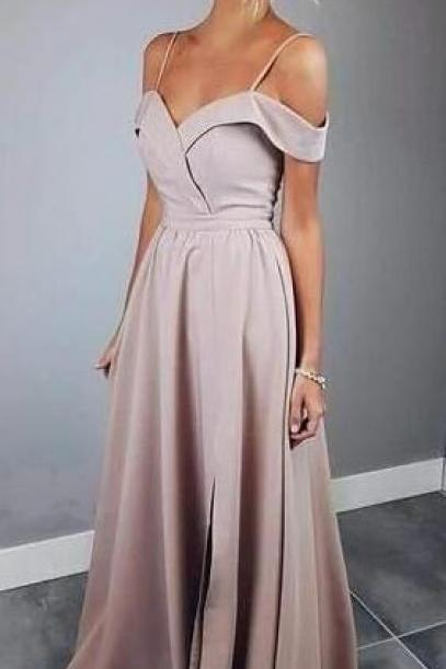 1655becb9f2 Simply Elegant Straps Prom Dress