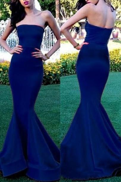 Royal Blue Prom Dress,Royal Blue Prom Dress,Silver Beaded Formal Gown,Beadings Prom Dresses,Evening Gowns,Chiffon Formal Gown For Senior Teens