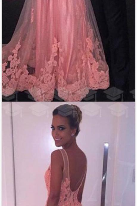 Charming lace Prom Dress,Cheap Prom Dress,V Neck Prom Dress,Long Prom Dresses,Prom Dresses,Evening Dress, Prom Gowns, Formal Women Dress