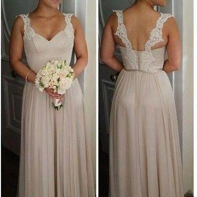 Charming Prom Dress,Chiffon Prom Dress,A-Line Prom Dress,Brief Bridesmaid Dress