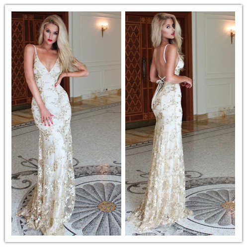 Prom Dress, Latest Prom Dress, Sexy Evening Dress, Mermaid Evening Dress, Lace Evening Dress, Formal Occasion Dress, Backless Evening Dress, Sweep Train Evening Gown