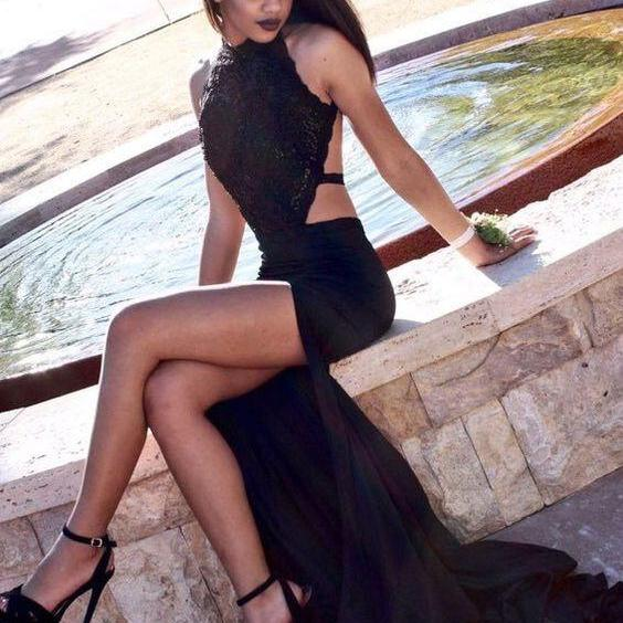Black Prom Dresses,Mermaid Prom Dress,Lace Prom Dress,Lace Prom Dresses,2016 Formal Gown