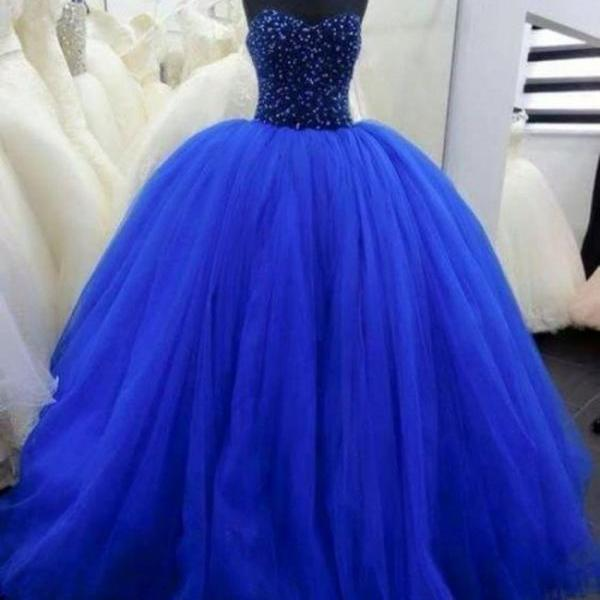 Charming Prom Dresses,Ball Gown Prom Dress,Tulle Prom Dress,Sweetheart Prom Dress