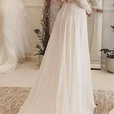 Backless Wedding Dress,Lace Prom Dress,A Line Prom Dress,Fashion Bridal Dress,Sexy Party Dress, New Evening Dress