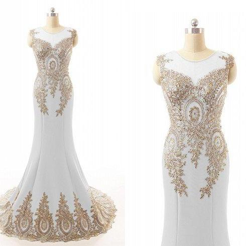 White Prom Dresses,Sparkle Evening Dress,Gold Beaded Prom Dresses,Red Prom Dresses,Glitter Prom Gown,Black Prom Dress,Mermaid Formal Gowns for Teens