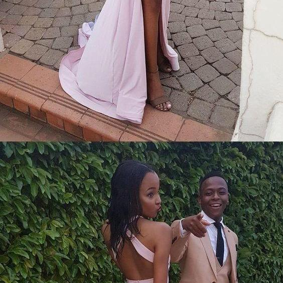 Sexy Mermaid Open Back Prom Dress,Sexy Split Pink Prom Party Dress,Mermaid Open Back Pink Slit Graduation Dress,Evening Dress, Prom Gowns, Formal Women Dress,prom dress